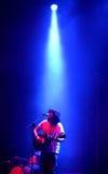 John Berkhout (band) live performance at Bime Festival. BILBAO, SPAIN - OCT 31: John Berkhout (band) live performance at Bime Festival on October 31, 2014 in Stock Image
