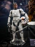 John Boyega as Finn Figure. John Boyega as Finn in star wars in Ani-Com & Games Hong Kong Stock Photo