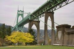 john bridżowy st Oregon Portland s usa Obraz Stock