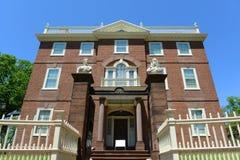 John Brown House försyn, RI, USA Fotografering för Bildbyråer