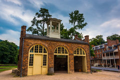 John Brown's Fort in the historic village of Harper's Ferry, Wes Royalty Free Stock Image