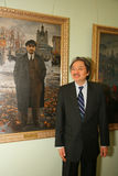 John C. Tsang - Finanzspezifikt. des sekretär-Hong Kong Stockfotos