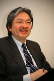 John C. Tsang - Spéc. financière de secrétaire Hong Kong Images libres de droits