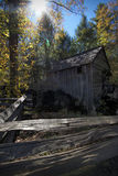 John Cable Grist Mill in Cades Cove Tennessee Stock Image