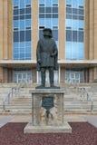 John Cabot-Statue am Bündnis-Gebäude lizenzfreie stockbilder