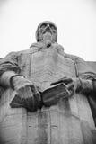 John Calvin, hervormingsmuur, Genève, Zwitserland Stock Foto