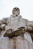 John Calvin, hervormingsmuur, Genève, Zwitserland Stock Foto's