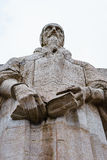 John Calvin, reformation wall, Geneva, Switzerland. Stock Photos
