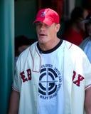 John Cena at Fenway Park. Stock Photos