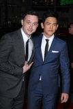 John Cho,Eddie Kaye Thomas Royalty Free Stock Photo