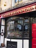 John Chudziutki pub w Lancaster Anglia w Centre miasto Fotografia Stock