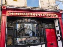John Chudziutki pub w Lancaster Anglia w Centre miasto Zdjęcia Royalty Free