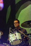 John convertino of Calexico live concert in italy, Ariano irpino Royalty Free Stock Photography