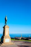 John Cook Memorial in Whitby, England Royalty Free Stock Photography