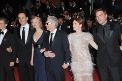 John Cusack & Mia Wasikowska & David Cronenberg & Julianne Moore & Robert Pattinson Stock Photography