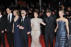 John Cusack & Mia Wasikowska & David Cronenberg & Julianne Moore & Robert Pattinson & Sarah Gadon Royalty Free Stock Photo