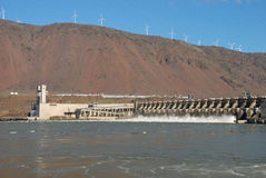 John Day Dam Stock Photography