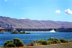 The John Day Dam Hydro Power Stock Photography