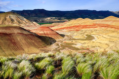 John Day Fossil Beds National Monument Stock Image