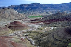 John Day Fossil Beds National-Monument, Oregon Lizenzfreie Stockbilder