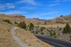 John Day Fossil Beds National-Monument, Oregon Lizenzfreie Stockfotos