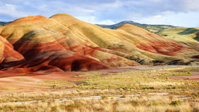 John Day Fossil Beds National Monument Royalty Free Stock Photography
