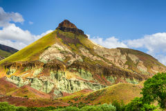 John Day Fossil Beds Sheep Rock Unit Landscape Royalty Free Stock Photography