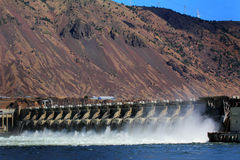 John Day Hydro Power Dam Imagen de archivo