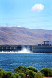 The John Day Hydro Power Dam Stock Image