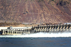 John Day Hydro Power Dam Stock Photos
