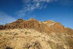 John day national fossil monument stock photo