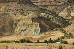 John day national monument royalty free stock photography