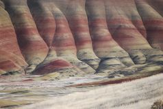 Free John Day Painted Hills Oregon Royalty Free Stock Photos - 160468038