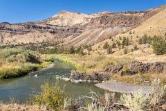 John Day River Imagen de archivo libre de regalías