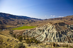 John Day River Valley and Blue Basin Stock Photography