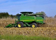 John Deere 9550 Combine. Royalty Free Stock Photos