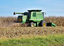 John Deere 9550 Combine. Royalty Free Stock Photography
