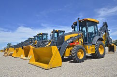 Free John Deere Excavating And Backhoes Stock Photo - 72915790