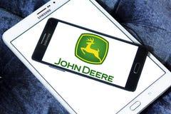 John deere logo Stock Photo