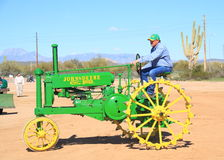 USA: Antique tractor - John Deere Model B (1935) Stock Images