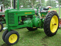 John Deere Model G Vintage Tractor Stock Photos
