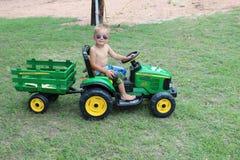 John Deere przyciąga młodych rolników wszystkie wieki Obrazy Royalty Free