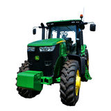 John Deere 7215R Agriculture Tractor Royalty Free Stock Photo