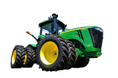 John Deere 9460R Agriculture Tractor. John Deere 9460R four wheel drive heavy duty agricultural tractor of the 9R series from the American farm equipment Stock Image