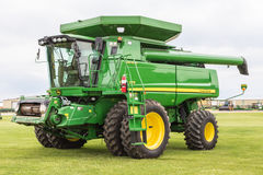 John Deere Self-Propelled Combine Stock Images