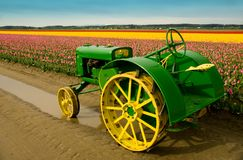 John Deere Tractor Royalty Free Stock Images