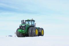John Deere Tractor Royaltyfri Fotografi