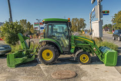 John Deere tractor Stock Photos