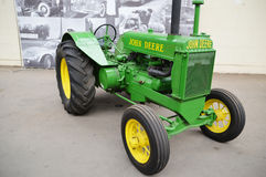 John deere tractor Royalty Free Stock Photo