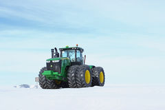 John Deere Tractor Royalty Free Stock Photography